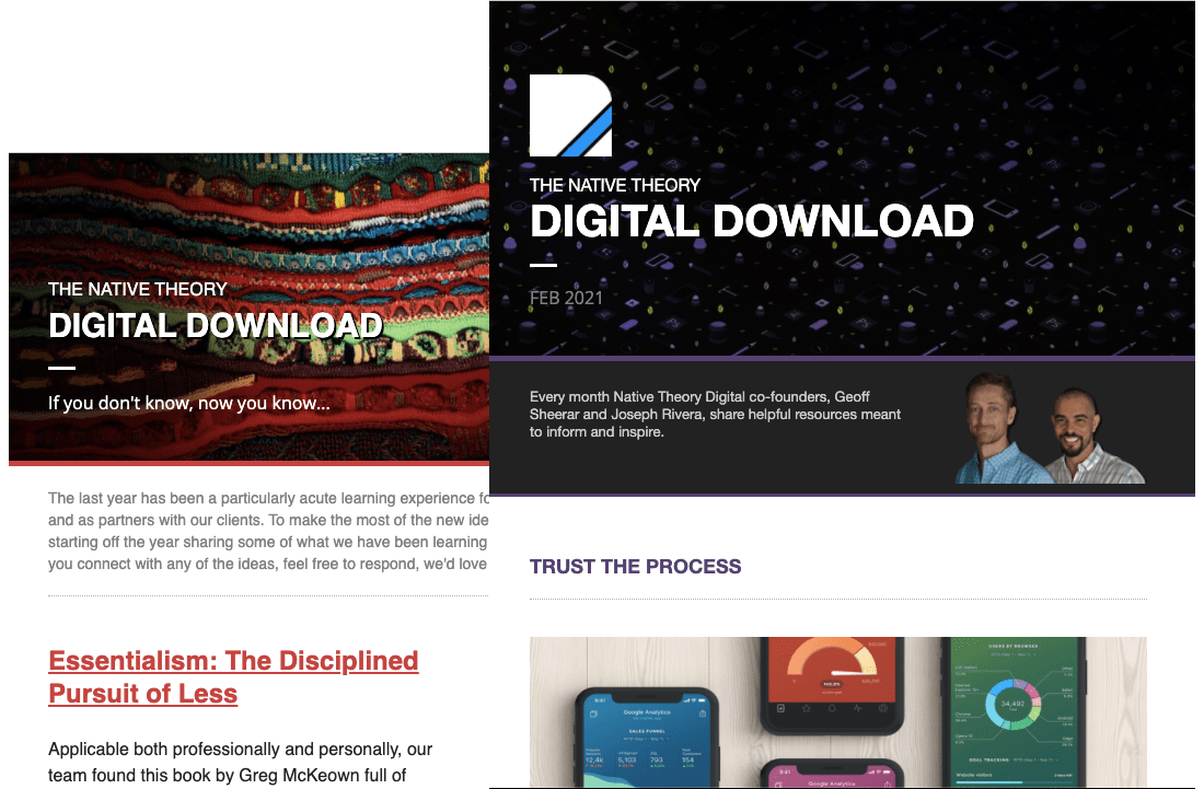 Native Theory Digital Download